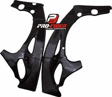 CARBON FRAME COVERS PROTECTORS YAMAHA YZF R1 2009-2010-2011-2012-2013-2014