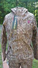 ScentBlocker Sola Womens Drencher RainBlocker Jacket Mossy Oak Bottomland Sz XL