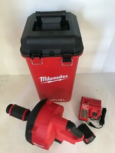 Milwaukee 2772A-21 M18 Fuel Drain Snake Cable Drive Locking Feed Kit Combo LN