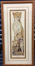 """Framed LE Print By D Swartzendruber - """"Into Africa"""" Cheetah - Signed & Numbered"""