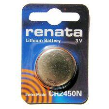 CR2450N Renata 3V litio 1 Pila De Botón