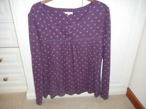 Mudd and Water ladies long sleeve top size 16