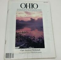 OHIO Magazine March 1990 'Our Ancient Wetlands' Ohio River 'Ohioana' History