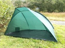 LARGE BEACH TENT 2.2M GREEN WATERPROOF FISHING BIVVY SHELTER & ACCESSORIES TY154