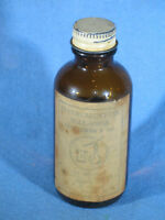 WWII General Bearing Co. Aircraft Instrument Lubricating Oil Mil-L-6085A Bottle