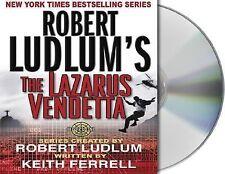 The Lazarus Vendetta 5 by Patrick Larkin and Robert Ludlum (2004, CD,...