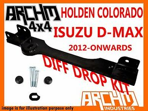 HOLDEN COLORADO RG / ISUZU D MAX 2012-ON BOLT IN DIFF DROP KIT