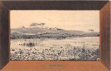 c.1910 Farm House & Barns Country Scene Block Island RI post card