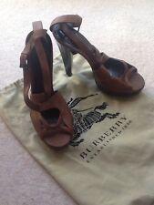BURBERRY marrone tacco alto women's shoes