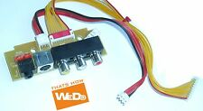 BEKO XGA193-01 CÔTÉ AV / CASQUE IMPUT POUR BUSH LCD32TV07HD