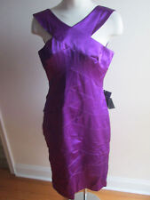 spiegel purple women dress size 10 new                 #202