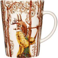 Iittala Klaus Haapaniemi Dance Tea Mug Cup Clever Fox Arabia Finland NEW