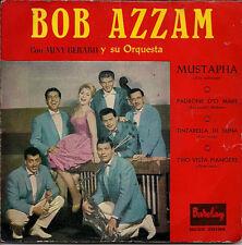 """Bob Azzam Y Su Orquesta ConMiny Gérard Mustapha Tri-centre Spanish 45 7"""" EP"""