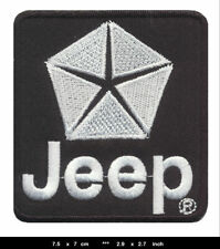 JEEP Patch Aufnäher Aufbügler Automobile Offroad Grand Cherokee 4x4 V8 USA