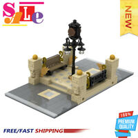 MOC-41731 Modular City Inbetween - Clock Square Building Blocks Bricks Toys