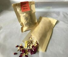 Handmade Rose & Jasmine Bath Tea With Epson Salts