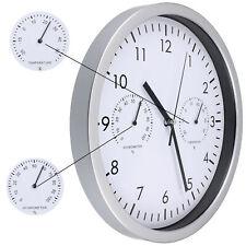 Thermometer Hygrometer Luftfeuchtigkeit Uhr Wanduhr Thermo-Hygrometer mechanisch
