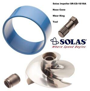 Solas SeaDoo GTI 130 155 4-Tec Impeller SR-CD-10/18 With Wear Ring Impeller Tool