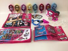 Monsters HIGH KINDER SURPRISE SET COMPLETO RAGAZZE GIOCATTOLI 11 BPZ 2017 Messico RARO