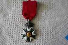 superbe médaille ordre légion d'honneur second empire Napoléon or et argent