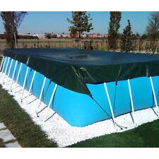 Telo di copertura invernale 6,00 x 9,50 m per piscina fuoriterra rettangolare