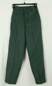 Red Kap Women's Work Pants Green PT60SGC Size W24 L29