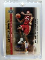 2003 03-04 Upper Deck Phenomenal Beginning Gold LeBron James Rookie RC #7, Cavs