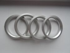 A set of 4pcs Aluminum HUB CENTRIC HUBCENTRIC RING RINGS OD 73mm to ID 54.1mm