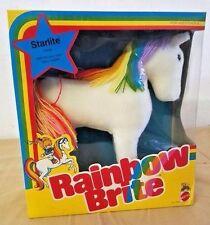 1983 Rainbow Brite Starlite Horse No. 7358 Mattel NOS NIB Unopened Vintage