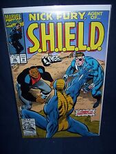 Nick Fury Agent of SHIELD #36 Vol. 2 (1992) with Bag and Board Marvel Comics