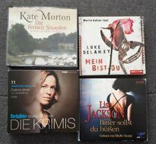 Hörbuchpaket - 4 Hörbücher - Audio-CD´s -Thriller und Krimi