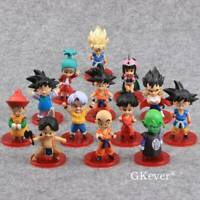 Dragon Ball Z Vegeta Son Goku 13 PCS Mini Action Figure Cake Topper Figurine Toy
