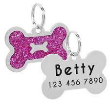 Etiqueta de identificación perro Personalizado perro Placa Chapa identificacion