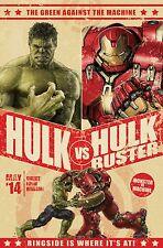 Avengers Hulkbuster Poster (24x36) - Hulk vs Iron Man