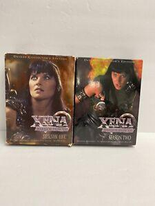 Xena Warrior Princess Seasons 1 & 2 on DVD