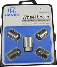 🔥 Genuine OEM Chrome Exposed Wheel Lock Set for Honda Acura 08W42-SNA-100 🔥