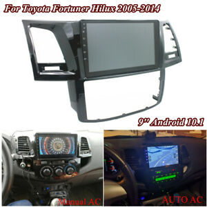 For Toyota Fortuner Hilux 2005-2014 Android 10.1 Stereo Radio GPS MP5 Player 9''