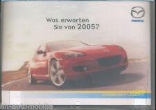 MAZDA rx-8 CD PUBBLICITARIO ADVERTISING CD che cosa si aspettano si di 2005? OROSCOPO AUTO AUTOMOBILI