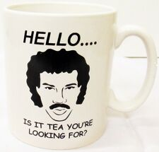 Hello... Is It Tea You're Looking for Mug Lionel Richie Tea Mug Decorated in UK