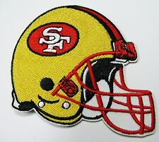 LOT OF (1) NFL SAN FRANCISCO 49ers HELMET PATCH APPROX. (TYPE B) ITEM # 16