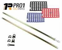 SFi Window Net and Install Installation Kit Spring Loaded Speedway Drag Off Road