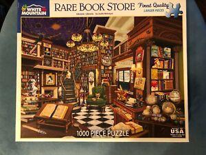 Rare Book Store 1000-piece White Mountain puzzle
