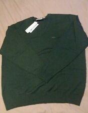 Lacoste XXXL T8 Jersey de lana Merino-Buis-AH2987-BNWT (años 80 Casual) RRP £ 140