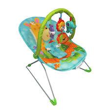 Baby Rocker Jolly Giraffa Bouncer Sedia con musica rilassante, vibrazioni e Giocattoli