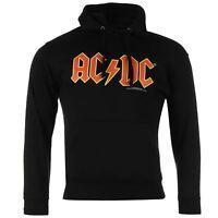 ACDC Logo Pullover Hoody Mens Black OTH Hoodie Sweatshirt Sweater Hooded Top
