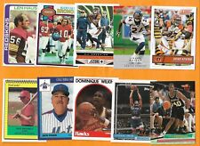 GEORGIA BULLDOGS 1978 - 2016 75 cards Walker Wilkins Hearst Carpenter Lilliquist