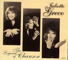 JULIETTE GRECO - The Legend Of Chanson - 2 CD