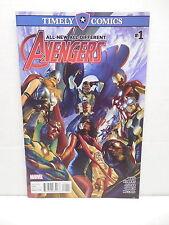 Avengers #1 Marvel Timely Giant-Size Comic Book Waid Kubert Iron Man Nova Thor
