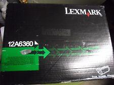 New ! Genuine Lexmark T620 T622 Printer High Yield Black Toner  12A6360