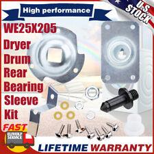 Kit Rodamiento De Tambor Trasero Para Secadora Ge AP2619300 PS267529 WE25M40 WE25X205 WE25X62
